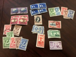 BECHUANALAND - Lot of Stamps mostly KGVI