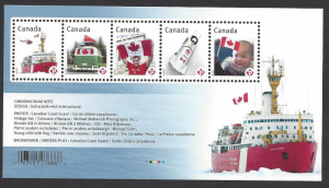 Canada #2498 MNH ss, Canadian flag on various items, issued 2012
