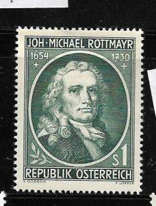 AUSTRIA, 594, MINT HINGED, JOH-MICHAEL ROTTMAYR