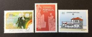 Portugal 1990 #1804-6, MNH,  CV $3.30