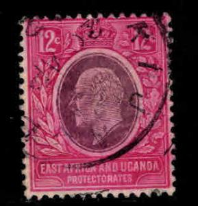 East Africa and Uganda protectorates  Scott 35 KEVII nice color and centering