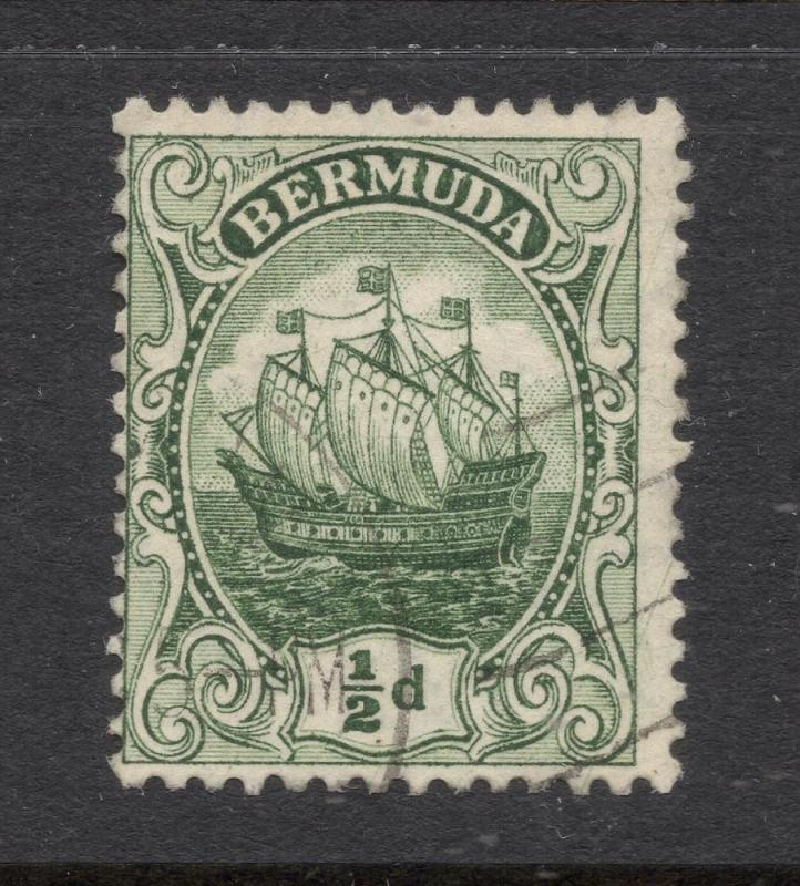 Bermuda #41a Dark Green - Light Cancel