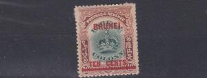 BRUNEI  1906  S G 18  10C  ON 16C   MH