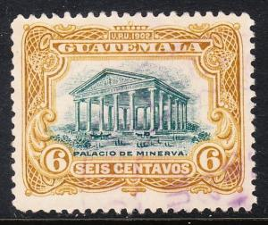 Guatemala 117- FVF used