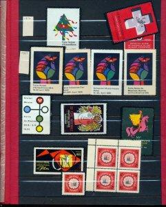 Switzerland 1960s Poster Cinderella Labels MH x 50(Seq 263