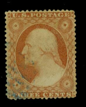 26A Used F-VF Blue Cancel Cat$152.50