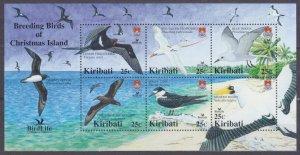 2005 Kiribati 967-972/B57 Birds
