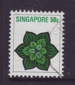 1973 Singapore 50c Fine Used SG219