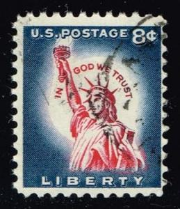 US #1042 Statue of Liberty; used (0.25)