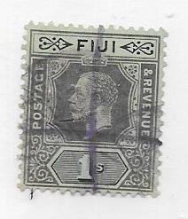 Fiji #88a   1s  King George V  (U) CV $11.00