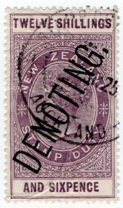 (I.B-BOB) New Zealand Revenue : Denoting 12/6d