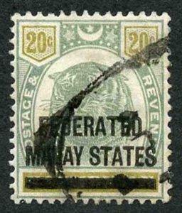 Malay States SG6  Malay States on 20c Negri Sembilan
