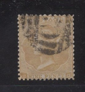Great Britain Sc. 40,  FVF ,  Used   CV $400  ....   2480068
