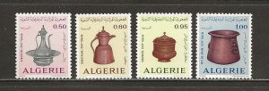 Algeria Scott catalog # 527-530 Unused Hinged