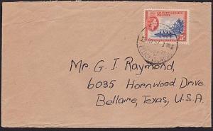 GILBERT & ELLICE IS 1957 cover to USA ex TARAWA............................68774