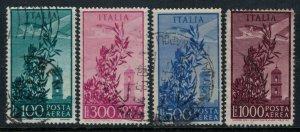 Italy #C123-6  CV $4.45