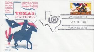 1995 TX Sesquicentennial Waco TX Pictorial Gamm