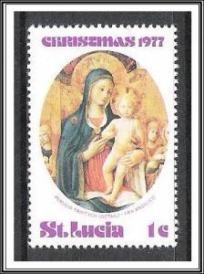 St Lucia #428 Christmas MNH