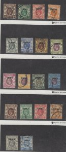 Great Britain Offices in China 1//24 Group of 18 Mostly Used  (JH 12/22) GP