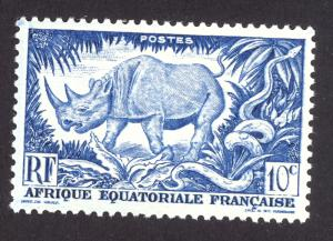 French Equitorial Africa 166 MH
