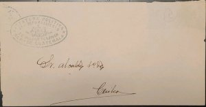 O) GUATEMALA, FRANQUICIA, FRANCHISE, OFFICIAL CORRESPONDENCE, POLITICAL HEAD OF