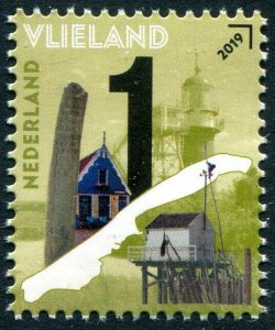 HERRICKSTAMP NEW ISSUES NETHERLANDS Sc.# 1582 Beautiful Neth. 2019 Vlieland