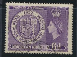 Northern Rhodesia  SG 59 SC# 59 Used / CTO - Cecil Rhodes - see details