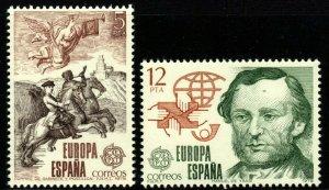 SPAIN SG2568/9 1979 EUROPA MNH