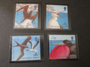 Ascension 2001 Sc 785-8 bird set MNH