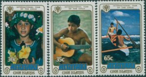 Aitutaki 1979 SG269-271 IYC set MNH