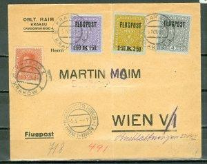 AUSTRIA AIR #C1-3...SET  on COMMERCIAL COVER