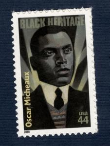 4464 Oscar Micheaux US Single Mint/nh (Free shipping offer)