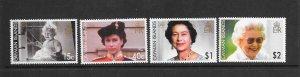 CAYMAN ISLANDS #957-60 QEII'S 80TH BIRTHDAY   MNH