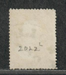 US Sc#25a Used/A, Claret, Cv. $1000