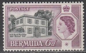 Bermuda #168 F-VF Unused  (S2341)