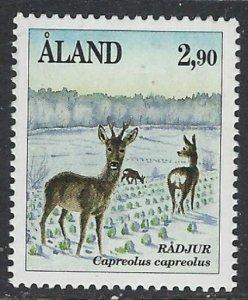 Finland-Aland 50 MNH 1989 Animals (ap6654)