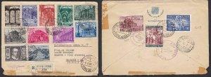 1950 Vatican, Vatican City, Tobia N° A 17 - Mail Aerea -