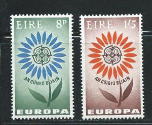 Ireland 196-7 1964 Europa set MLH