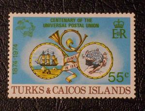 Turks & Caicos Islands Scott #296 unused