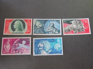 Monaco 1966 Sc 624-8 set MNH