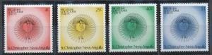 Saint Kitts - Nevis 308-311 MNH