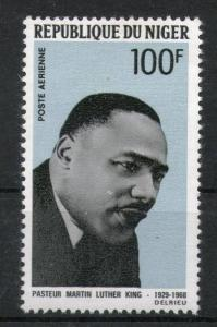 Niger 1968 Martin Luther King Noble Prize Winner Apostle of Non - Violence Sc...