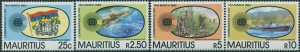 Mauritius 1983 SG653-656 Commonwealth Day set MNH