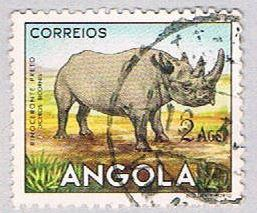 Angola 370 Used Black Rhino 1953 (BP24814)