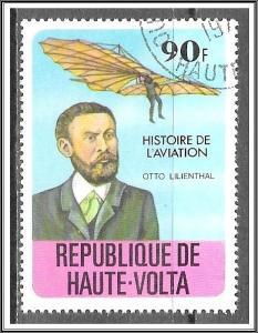 Upper Volta #465 History of Aviation CTO