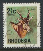 Rhodesia   SG 490  SC# 329  Used   Antelopes   see details
