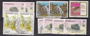 ZIMBABWE ^^^^^^^x10  used  KEYS   $ 39.00@ ha905zim
