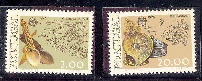 Portugal  #1283-4   VF NH  -  Lakeshore Philatelics