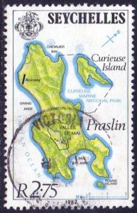 Seychelles 1982 2.75r Praslin used