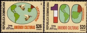 DOMINICAN REPUBLIC 1502-03 MNH L183-3
